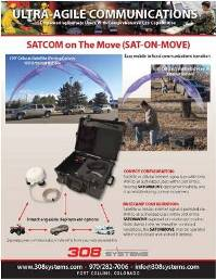 SATONTHEMOVE Brochure