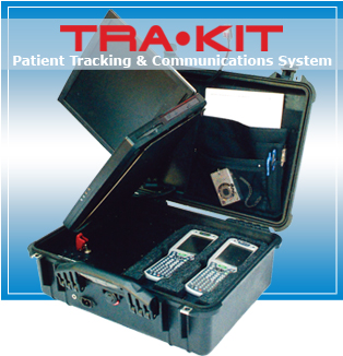 TRA-KIT mobile asset and personnel tracking system